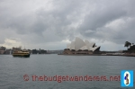 """Roving Clouds Atop Sydney Opera House"""