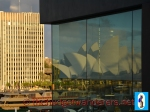 """Sydney Opera House Glass Reflection"""