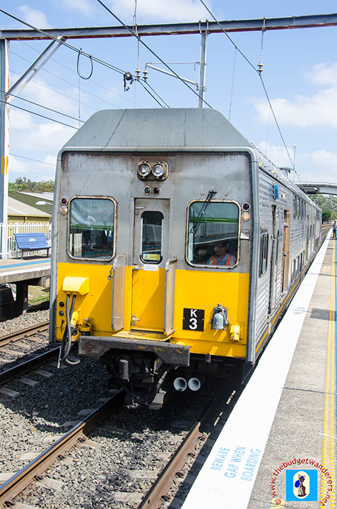 K3 at Loftus station