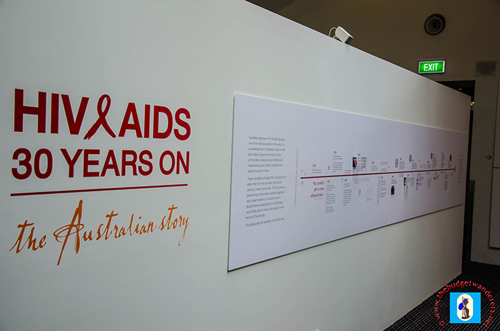 HIV/AIDS exhibit at the 4th level where parental guidance is needed.