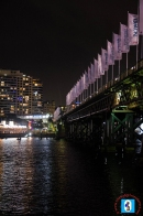 Picturesque Darling Harbour at Night