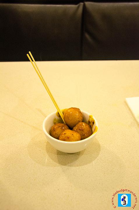 Chili Fish Balls