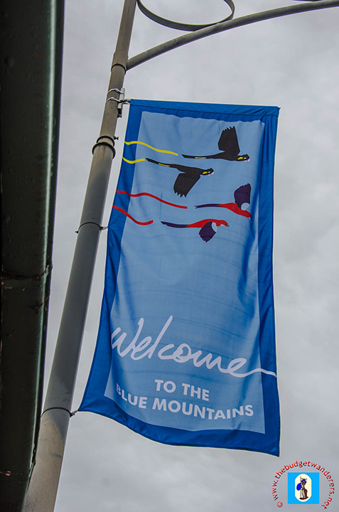 Blue Mountains Welcome Flag