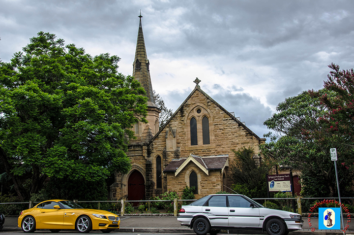 Springwood Presbyterian Church at Macquarie Road, which was built in 1895.