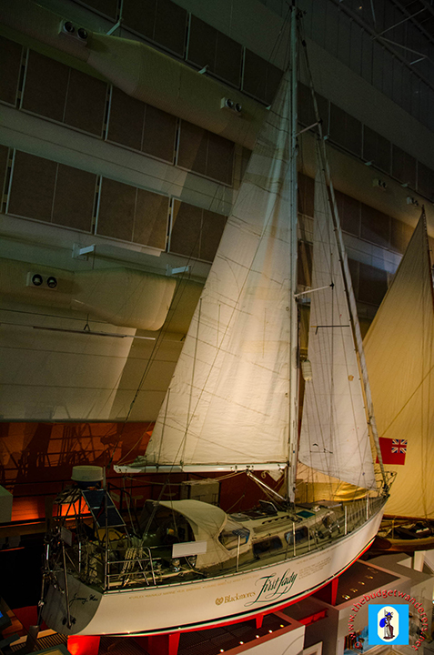 Kay Cottee's yacht that first circumnavigated the world.