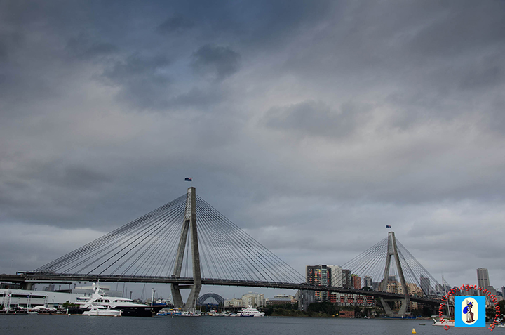 ANZAC Bridge was opened in December 1995