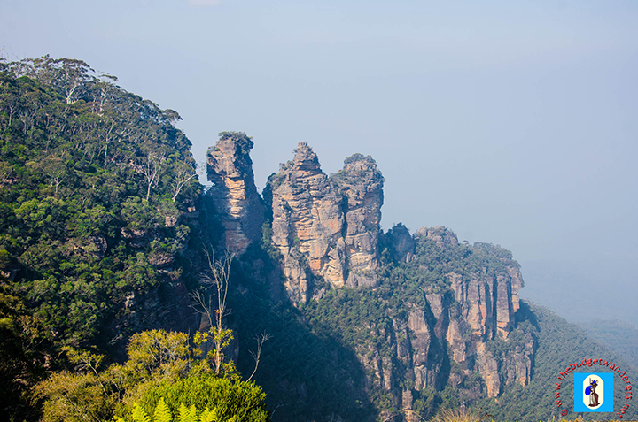 Another view of the famous Three Sisters.