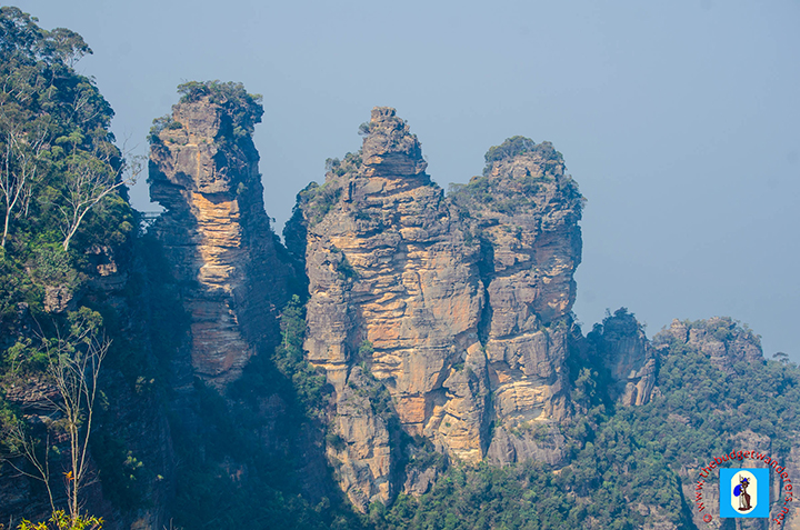 Three Sisters' closer view.