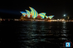 Sydney Opera House is once again at centre-stage for the Sydney Vivid Lights Festival.