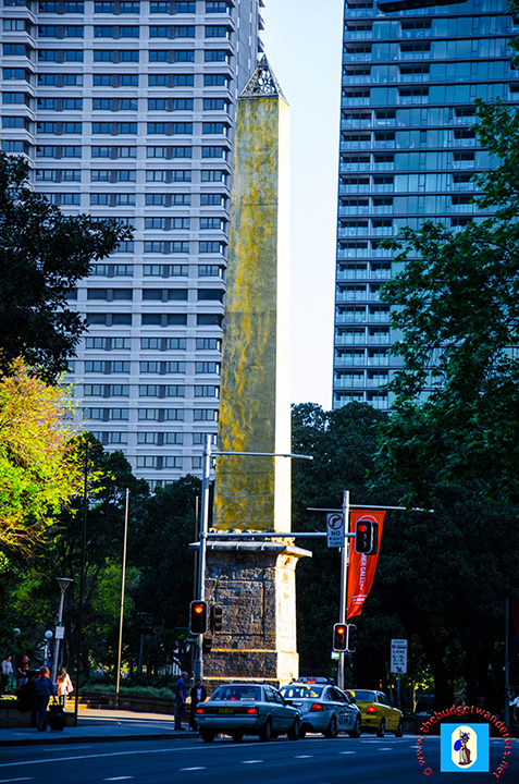 The Hyde Park Obelisk is the oldest structure in Hyde Park.