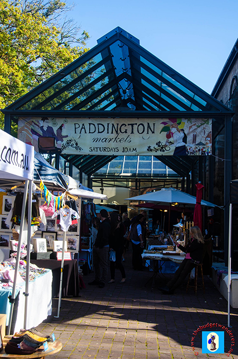 Entry to Paddington Markets