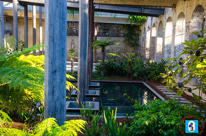 An inside look of the Paddington Reservoir Gardens.