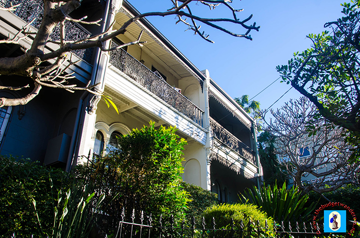 Victorian-inspired terraces along Ormond Street in Paddington.