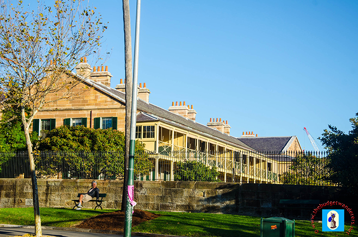 Victorian Barracks is one of Australia's famed military architecture.