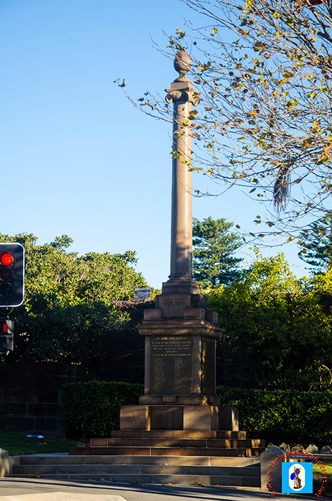 Paddington War Memorial is a legacy to the men who fought during the Great War.
