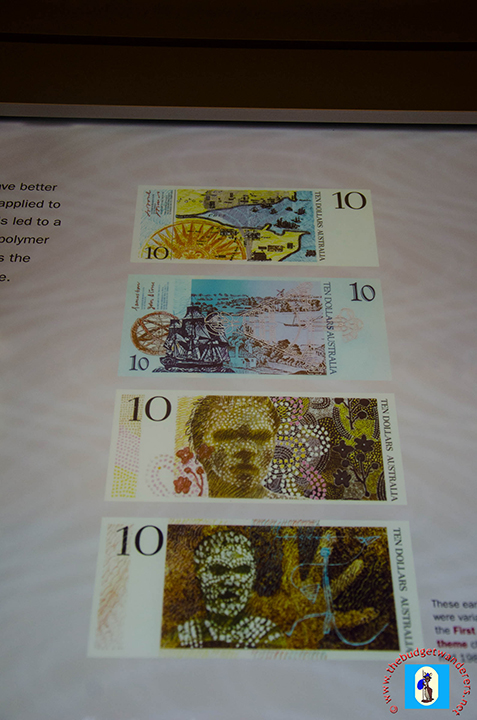Aborigines portrayed on the currency notes.